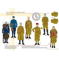 Les Tirailleurs Marocains, 1915-1918