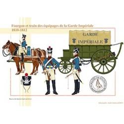 Fourgon et train des équipages de la Garde Impériale, 1810-1812