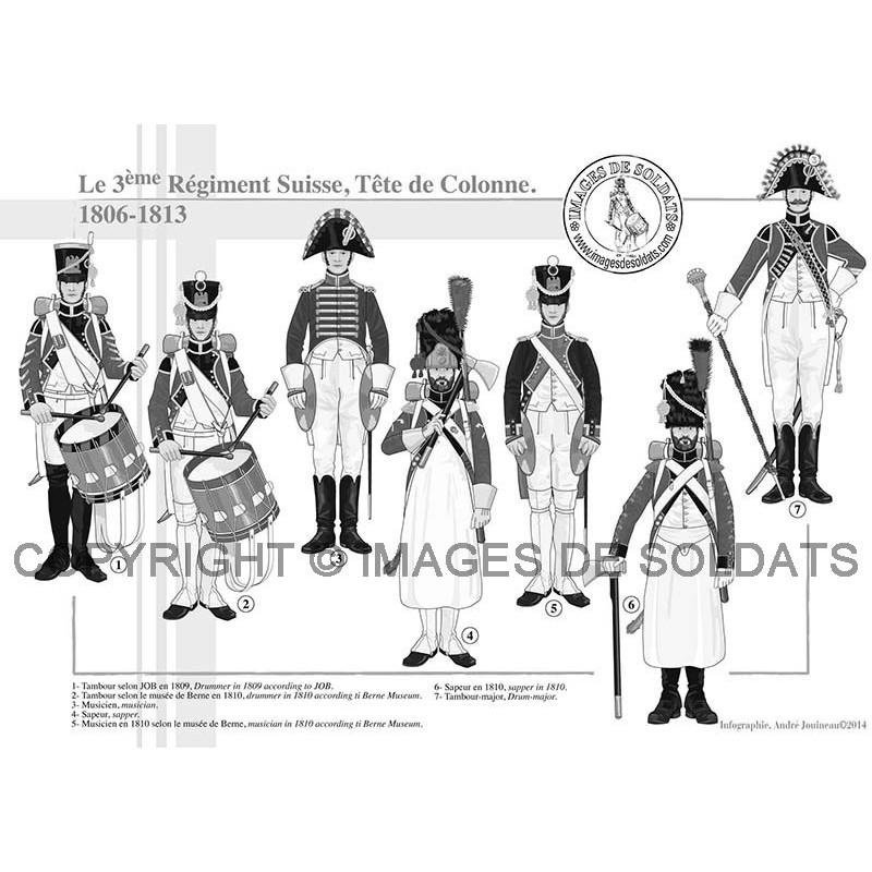 le 3 me r giment suisse 1806 1815. Black Bedroom Furniture Sets. Home Design Ideas