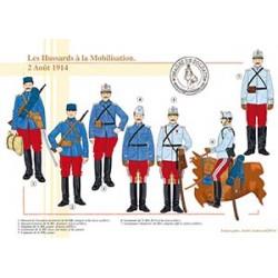 Les Hussards à la Mobilisation, 2 Août 1914