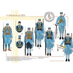 L'infanterie en 1915