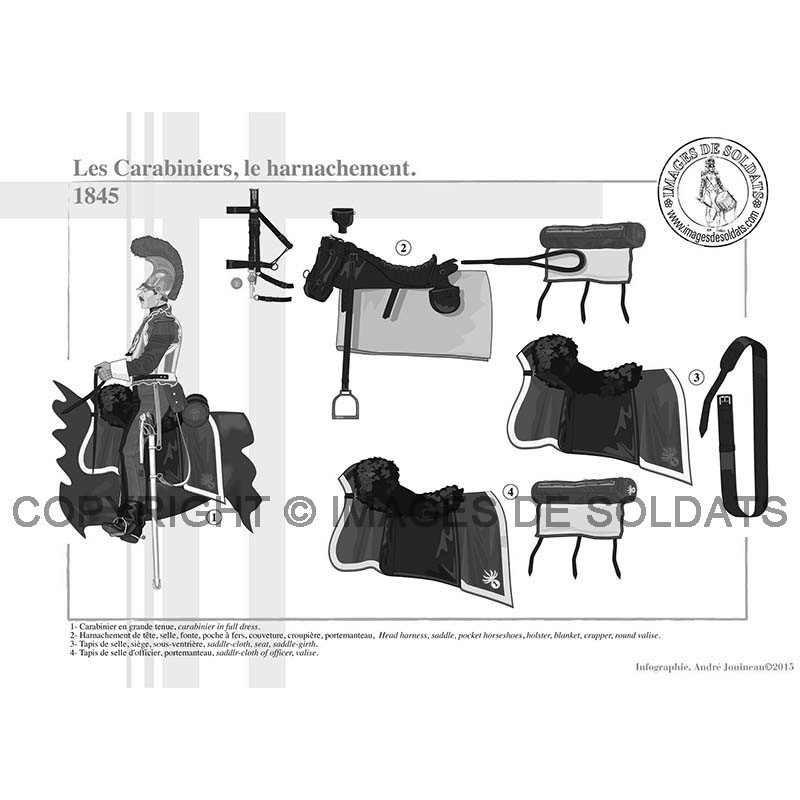 les carabiniers 1845. Black Bedroom Furniture Sets. Home Design Ideas