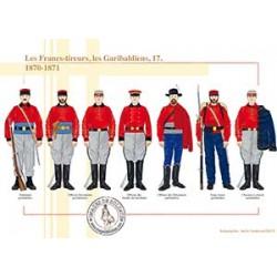Les Francs-tireurs, les Garibaldiens (17), 1870-1871