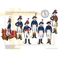 L'État-Major d'une Armée de la République, 1792-1798