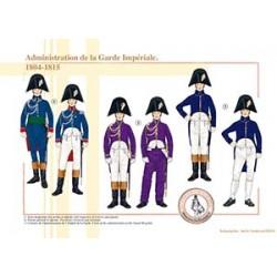 Administration de la Garde Impériale, 1804-1815