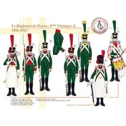 Le Régiment de Prusse, 4ème Etranger (2), 1806-1813