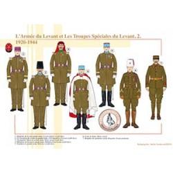 L'Armée du Levant et les Troupes Spéciales du Levant (2), 1920-1944