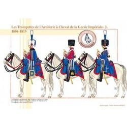 Les Trompettes de l'Artillerie à Cheval de la Garde Impériale (3), 1804-1815
