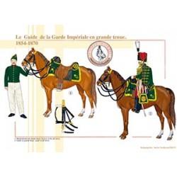 Le Guide de la Garde Impériale en grande tenue, 1854-1870
