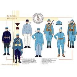 Le Génie, 1914-1918