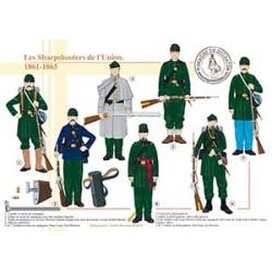 Les Sharpshooters de l'Union, 1861-1865