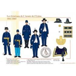 Les Généraux de l'Armée de l'Union, 1861-1865