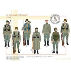 L'Infanterie Allemande, 1916