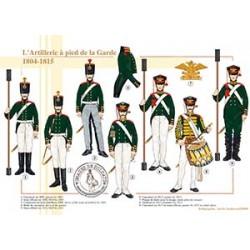 L'Artillerie à pied de la Garde, 1804-1815