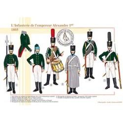 L'Infanterie de l'empereur Alexandre 1er, 1805