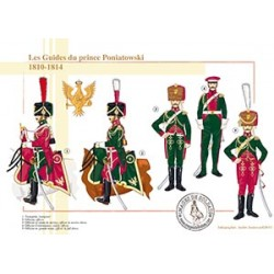 Les Guides du prince Poniatowski, 1810-1814