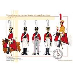 Le régiment de chevau-légers saxon prince Jean, 1810-1813