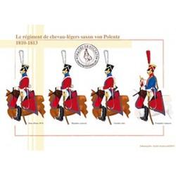 Le régiment de chevau-légers saxon von Polentz, 1810-1813