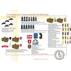 Les insignes de l'Armée polonaise de libération, 1940-1945