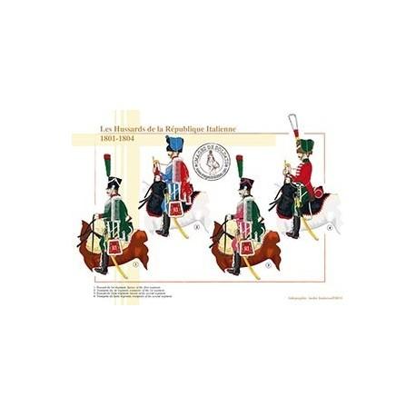 Les Hussards de la République Italienne, 1801-1804