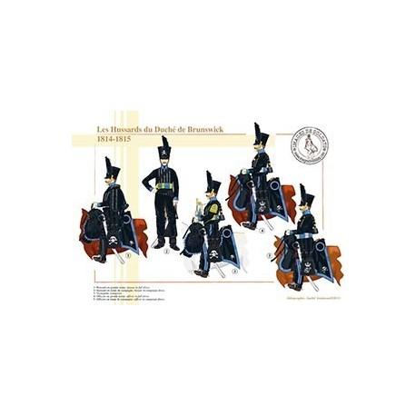 Les Hussards du Duché de Brunswick, 1814-1815