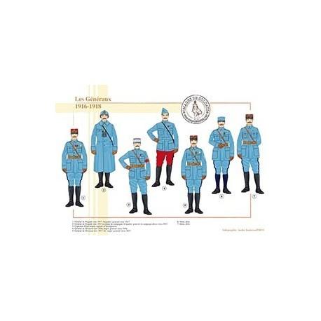 Les Généraux, 1916-1918