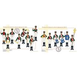Musique de l'infanterie selon le règlement de 1812