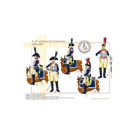 Le 8e régiment de cuirassiers, 1800-1803
