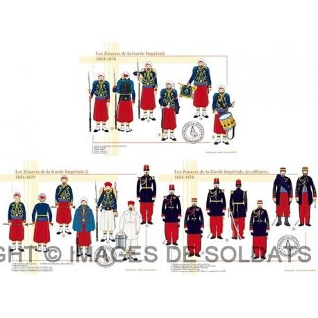Les Zouaves de la Garde Impériale, 1854-1870