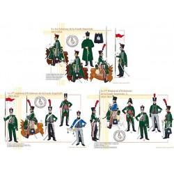 Le 1er Régiment d'Eclaireurs de la Garde Impériale, 1813-1814