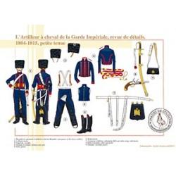 L'Artilleur à cheval de la Garde, revue de détails, 1804-1815, petite tenue