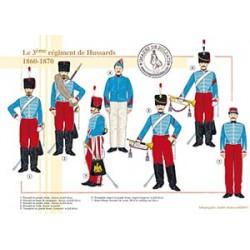 Le 3ème régiment de Hussards, 1860-1870