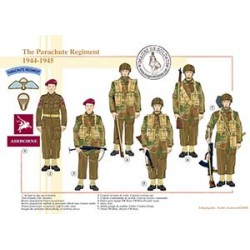 The Parachute Regiment, 1944-1945