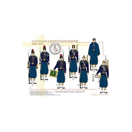 Les Chasseurs à pied de la Garde Impériale, 1860-1870