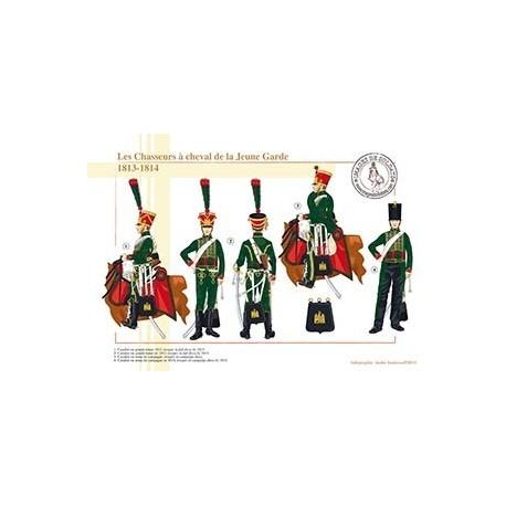 Les Chasseurs à cheval de la Jeune Garde, 1813-1814