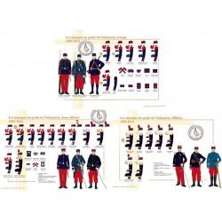 Les marques de grades de l'infanterie, 1905-1914