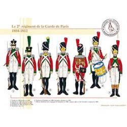 Le 2e régiment de la Garde de Paris, 1804-1812