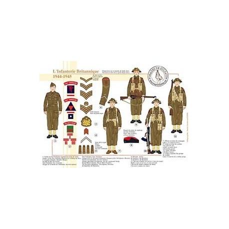 L'Infanterie Britannique, 1944-1945