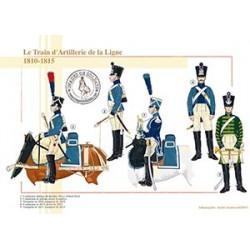 Le Train d'Artillerie de la Ligne, 1810-1815