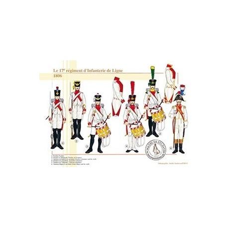Le 17e régiment d'Infanterie de Ligne, 1806
