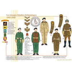 Les troupes blindées britanniques, 1943-1945