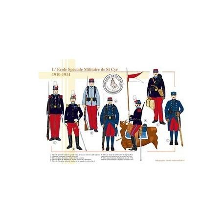 L'Ecole Spéciale Militaire de St Cyr, 1910-1914
