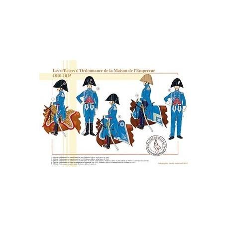 Les officiers d'Ordonnance de la Maison de l'Empereur, 1810-1815