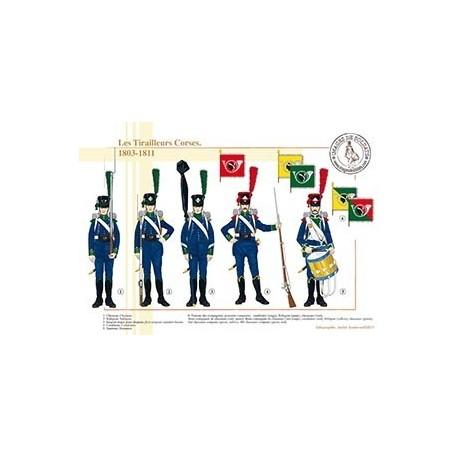 Les Tirailleurs Corses, 1803-1811