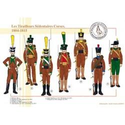 Les Tirailleurs Sédentaires Corses, 1804-1815