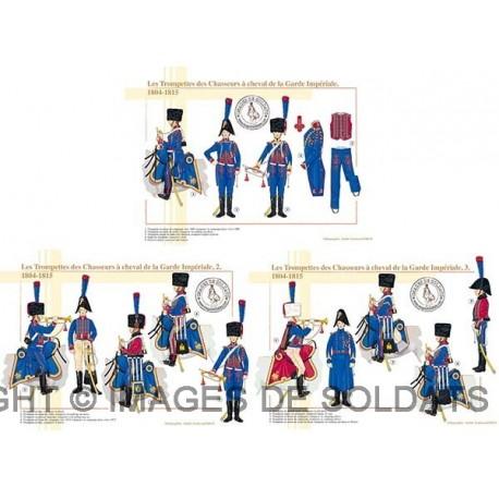 Les Trompettes des Chasseurs à cheval de la Garde Impériale, 1804-1815