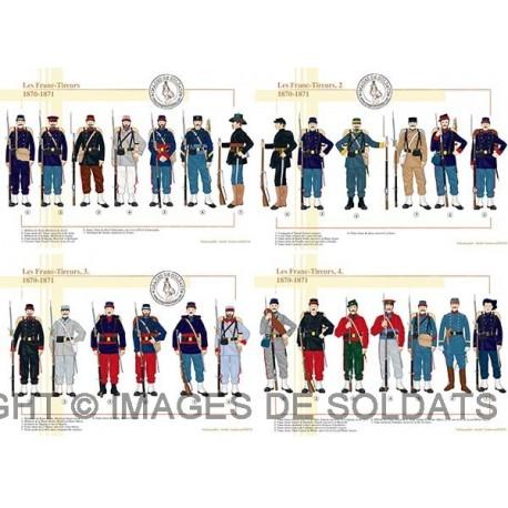 Les Franc-Tireurs, 1870-1871