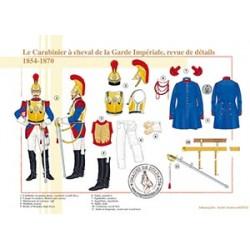Le Carabinier à cheval de la Garde Impériale, revue de détails, 1854-1870