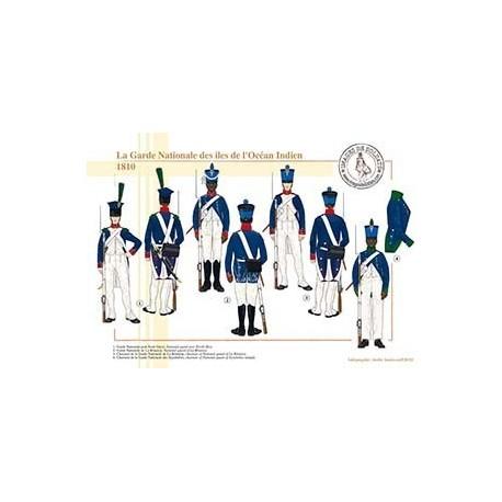 La Garde Nationale des iles de l'Océan Indien, 1810