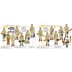 Les Troupes Aéroportées américaines, 1944-1945